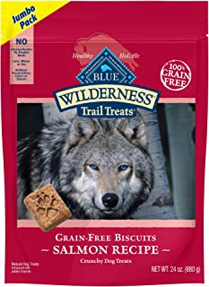 Blue Buffalo Wilderness Trail Treats High Protein Grain Free Biscuits Crunchy Dog Treats