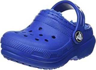 Crocs Unisex Çocuk Classic Lined Clog K Moda Ayakkabı