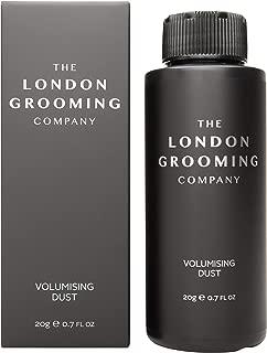 The London Grooming Company Volumizing Matte Styling Texturizing Hair Powder for Men, 0.7oz (20gm) Shaker Bottle