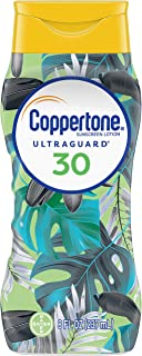 Coppertone ULTRA GUARD Sunscreen Lotion Broad Spectrum SPF 30 (8 Fluid Ounce) (Packaging may vary)