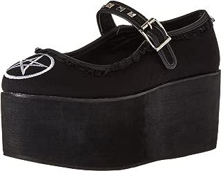 black kawaii shoes
