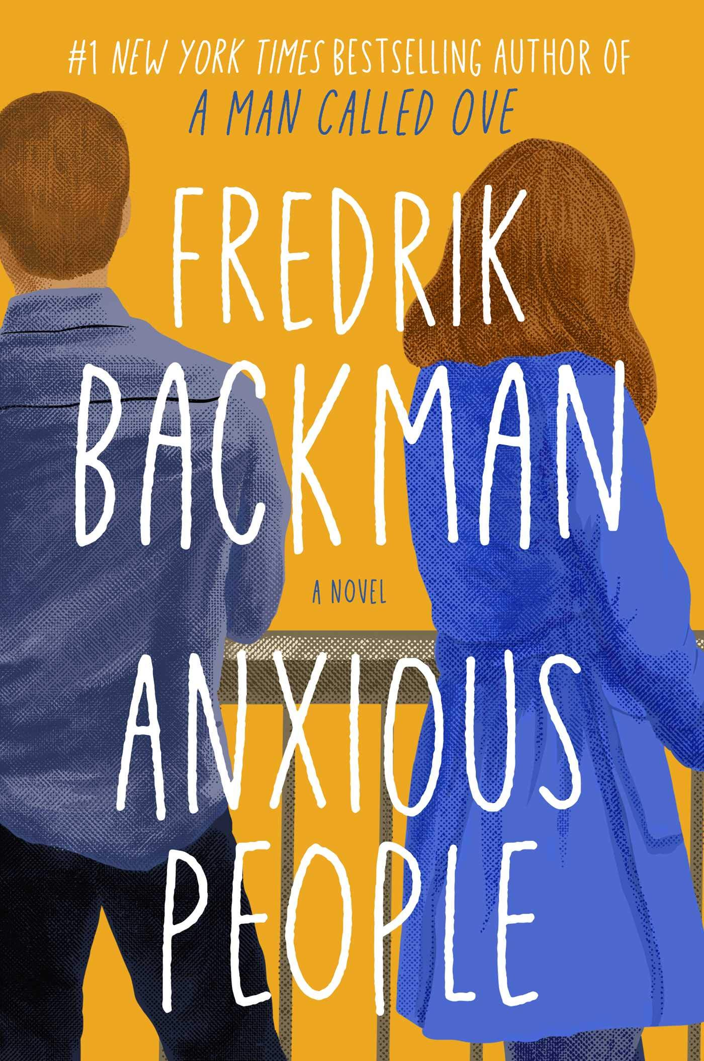 Cover image of Anxious People by Fredrik Backman