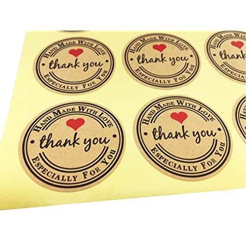 Kraft Decorative Labels Stickers Amazon Com