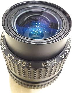 Pk muont Zoom 35-70mm 1-3.5-4.5 Manual Lens.