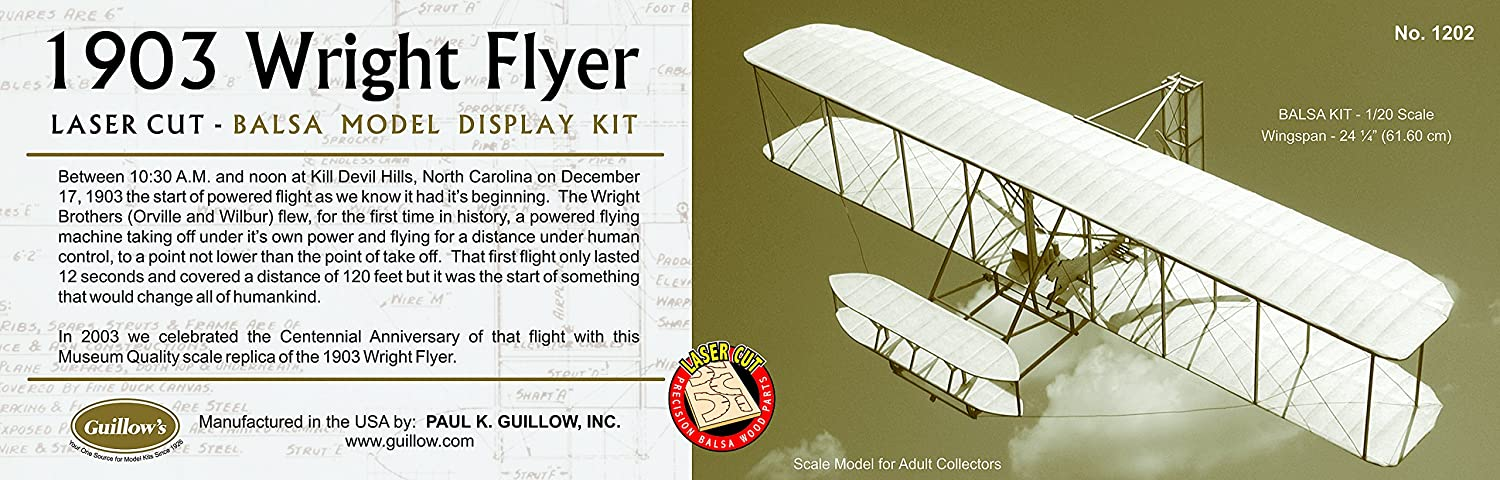 Wright Flyer 3 4 scale kit