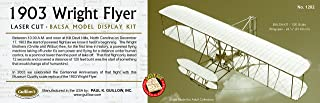Guillow's 1903 Wright Brother Flyer Laser Cut Model Kit