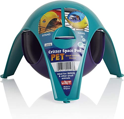 Lixit Critter Space Pod, Perfect for Small Animals