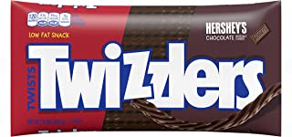 Twizzlers Twists, Chocolate, 12-Ounce Bags (Pack of 6)