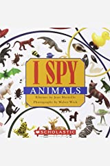 I Spy Animals Paperback