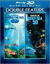 3D IMAX DOUBLE FEATURE: UNDER THE SEA + DEEP SEA (BLU-RAY 3D + BLU-RAY)