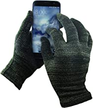 GliderGloves Copper Infused Touch Screen Gloves - Entire Surface Compatible with iPhones, Androids, Ipads, Tablets & More - Anti Slip Palm for Driving & Phone Grip - (Multiple Sizes & Colors)