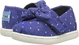 Imperial Blue Dot Chambray/Bow