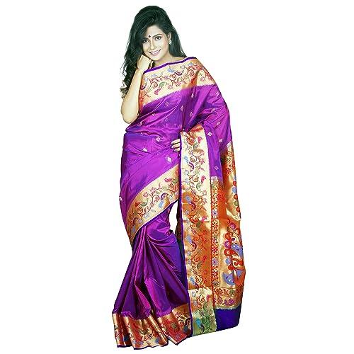 44339d1ae Kanjivaram and Paithani Sarees  Buy Kanjivaram and Paithani Sarees ...