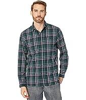 Highway 1 Roadtrip Redford Checks Flannel Long Sleeve Two-Pocket Shirt