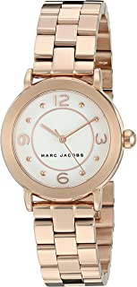 Marc Jacobs Women's Riley Rose Gold-Tone Watch - Mj3474, Analog Display
