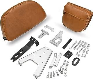 Show Chrome Accessories 30-209 Saddle Detachable Smart Mount Backrest (Indian)