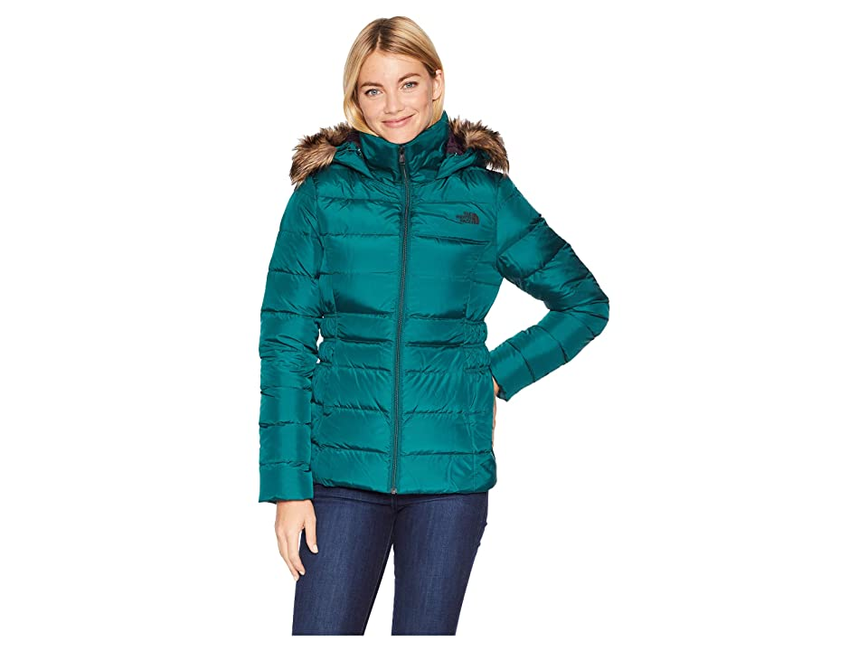 The North Face Gotham Jacket II (Botanical Garden Green) Women