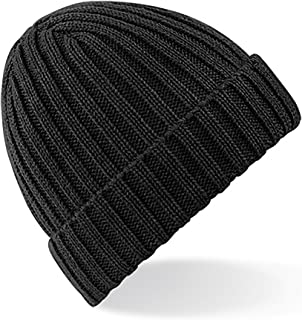 Beechfield Unisex Winter Chunky Ribbed Beanie Hat