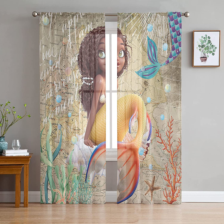 Chiffon Sheer Curtains Superlatite 96 Inch Length Set Pockets Ranking TOP16 f 2 Rod Panels
