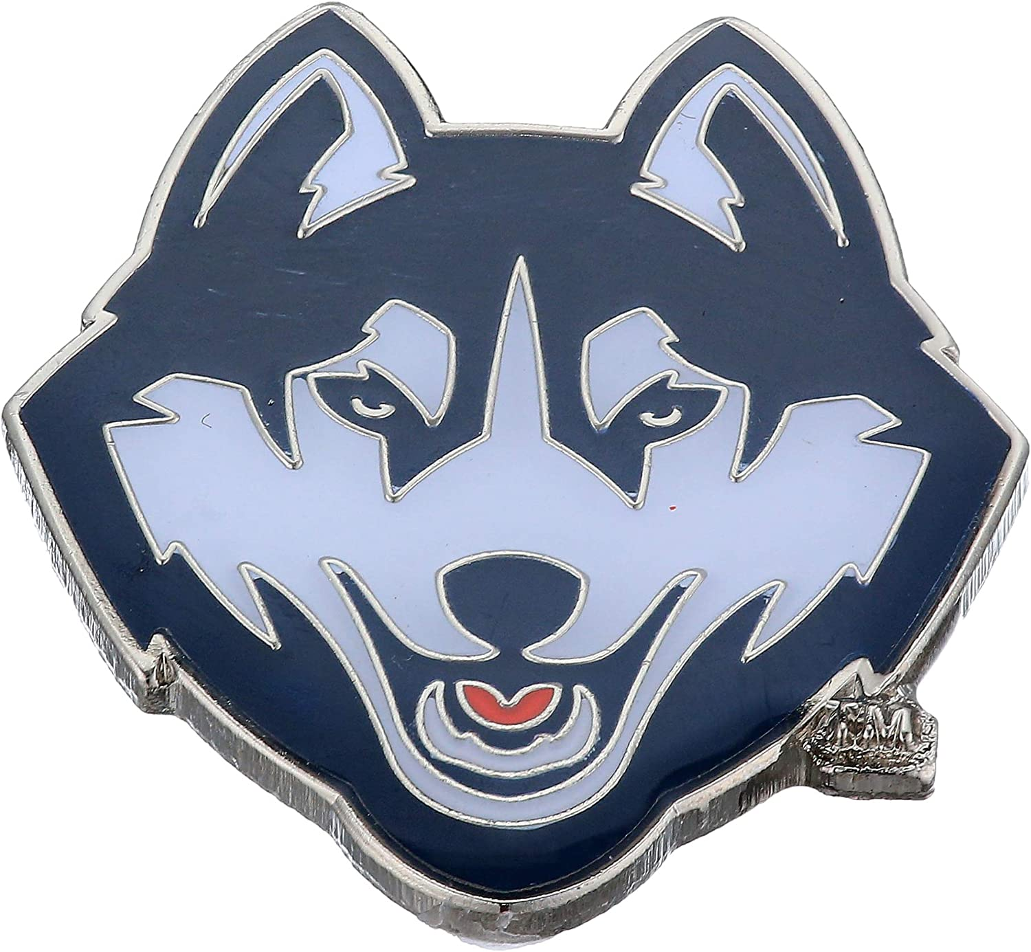 Aminco NCAA Connecticut Huskies Team Raleigh 2021new shipping free shipping Mall color Pin team Logo