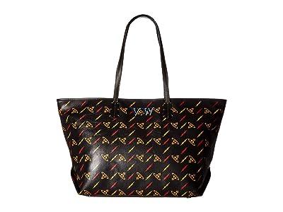 Vivienne Westwood Colette Small Shoulder Bag (Black) Shoulder Handbags
