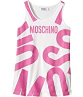 Moschino Kids - Tank Top w/ Logo Graphic on Front (Big Kids)