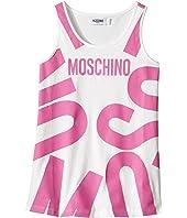 Moschino Kids - Tank Top w/ Logo Graphic on Front (Big Kids)