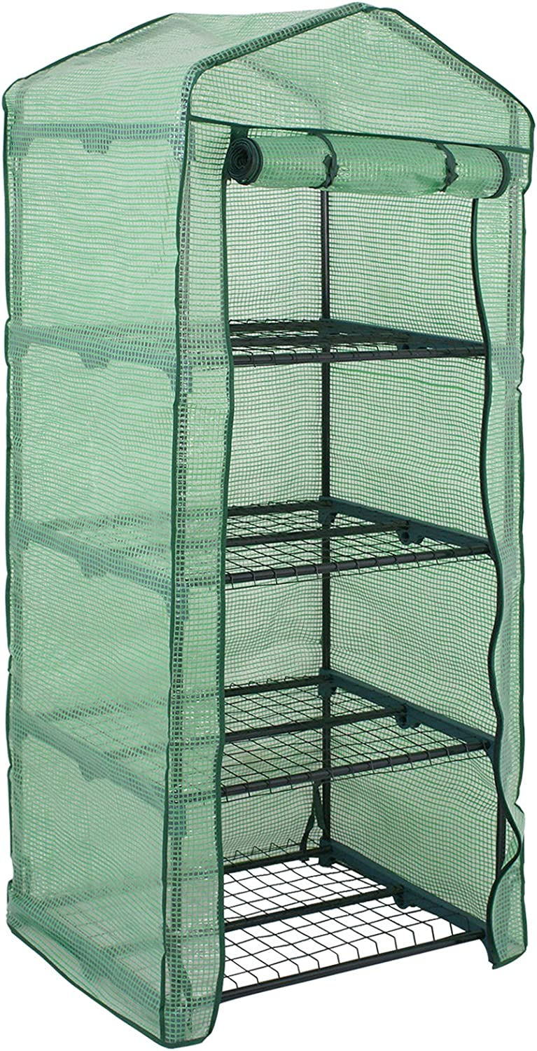 Epetlover Mini Max 40% OFF Greenhouse Ranking TOP8 4 Tire Outdoo for Stands Portable Rack