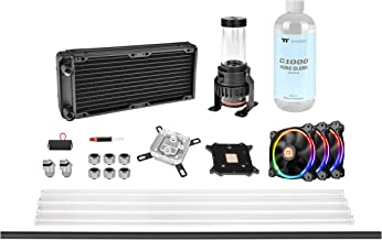 Thermaltake Pacific M240 D5 Res/Pump PETG Hard Tube Water Cooling Kit CL-W216-CU00SW-A