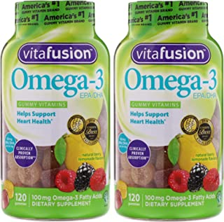 Vitafusion Omega-3 Gummies, 240 Count