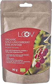 Arándano Rojo Silvestre Orgánico en Polvo, Obtenido 100% a