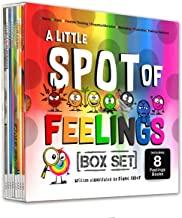 A Little SPOT of Feelings 8 Book Box Set (Book 25-32: Empathy, Frustration, Calm, Belonging, Worry, Boredom, Flexible Thin...