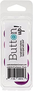 Button Up! Snack Pack Buttons 8/Pkg-Professor Plum