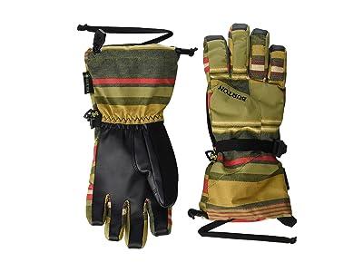 Burton Kids GORE-TEX(r) Glove (Little Kid/Big Kid) (Gratz Stripe) Extreme Cold Weather Gloves