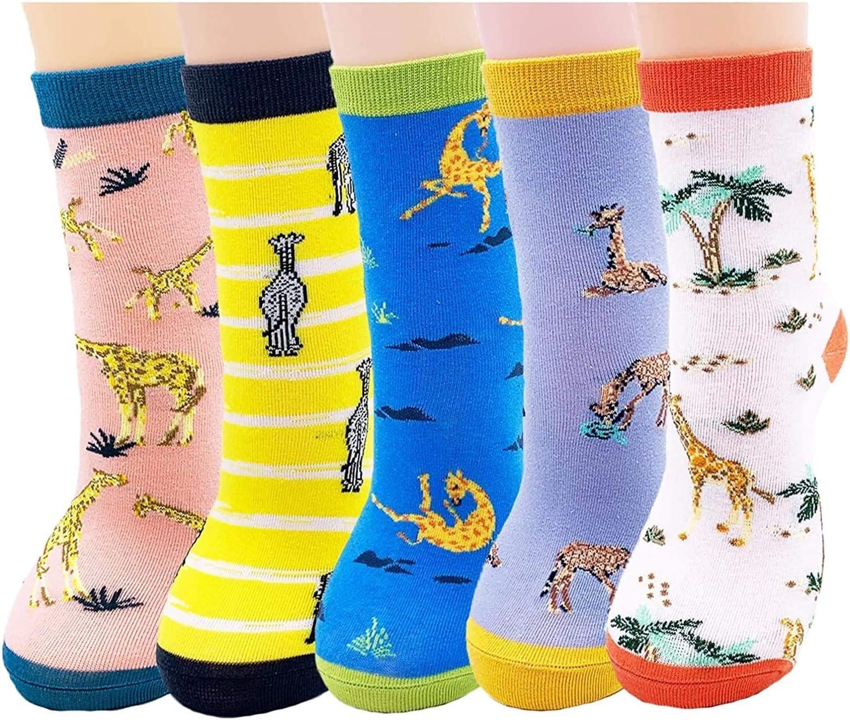 RENFEIYUAN Womens Cat Socks famous Oklahoma City Mall Cotton Funky Cute Funny Animals Nove