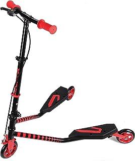 Kawin - Patinete doble Slider Fliker, de 3 ruedas, plegable