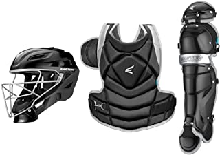 EASTON THE FUNDAMENTAL BY JEN SCHRO Softball Catchers Protective Box Set, 2021, Helmet + Steel Cage, Chest Protector - Bre...