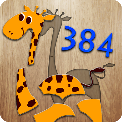384 Rompecabezas para niños - juego educativo la enseñanza de las primeras palabras y pronunciaciones