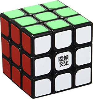 MoYu YJ Weilong 3 x 3 x 3 Black Speed Cube Puzzle