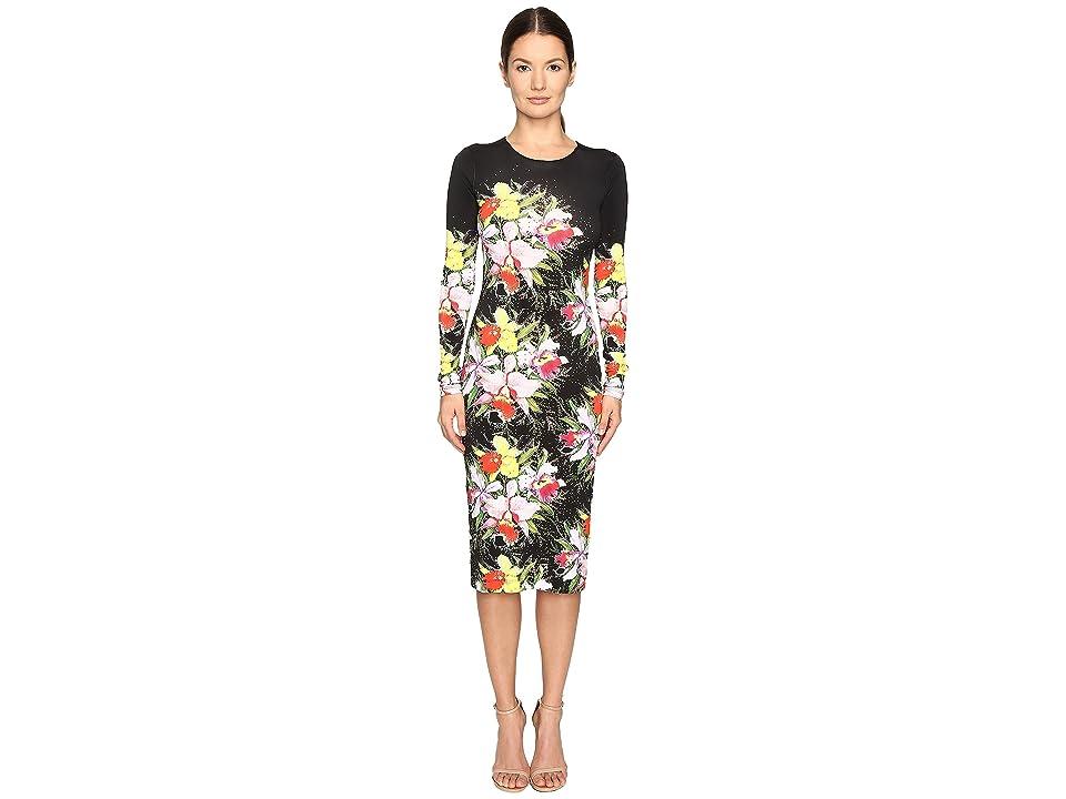 Preen by Thornton Bregazzi Myra Printed Jersey Dress (Tin Flower) Women