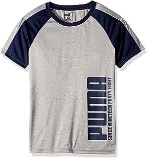 PUMA Boys Boys' Graphic Tee Short Sleeve T-Shirt