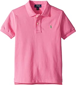 Cotton Mesh Polo Shirt (Little Kids/Big Kids)