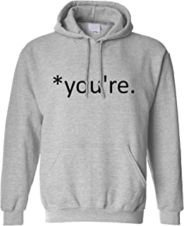 Correction of The Proper 'You're' Funny Hoodie Joke Hooded