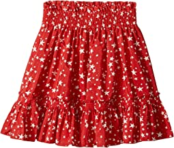 Twinkle Star Print Pleated Skirt (Toddler/Little Kids/Big Kids)