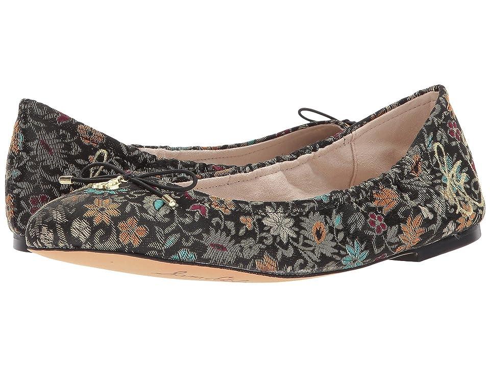 Sam Edelman Felicia (Black Multi Decorative Floral Brocade) Women