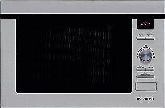 MICROONDAS INFINITON de Integración IMW-1625 900W C/GRILL 25L INOX