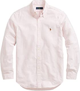 65fc0bbb RALPH LAUREN Polo Mens Solid Oxford Pony Shirt Button-Down