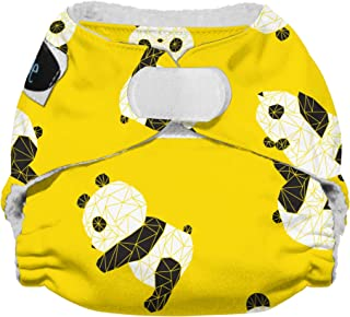 Imagine Baby Products Newborn Stay Dry All-in-One Diaper, Hook and Loop, Panda Fold