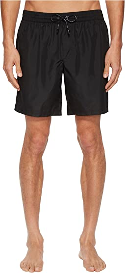 Dolce & Gabbana - Mid Length Solid Boxer w/ Bag