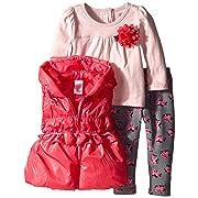 Ralph Lauren Baby Girls Explorer Fleece Footed Rasperry Pink Coverall